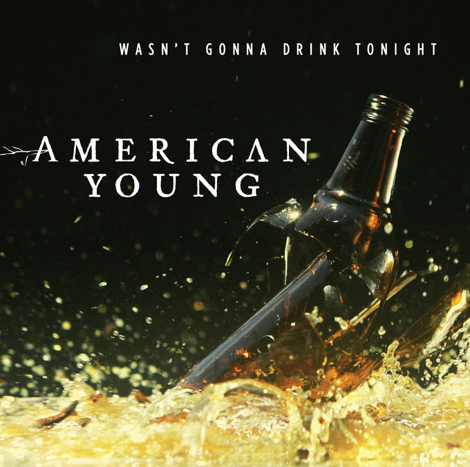 american young wasn't gonna drink tonight