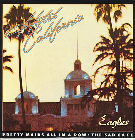 hotel california eagles album cover