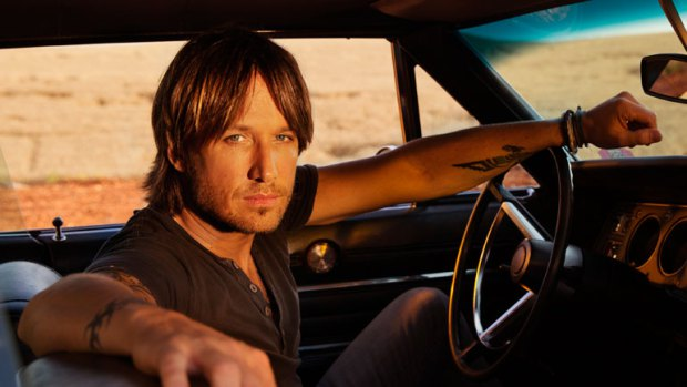 keith urban somewhere in my car