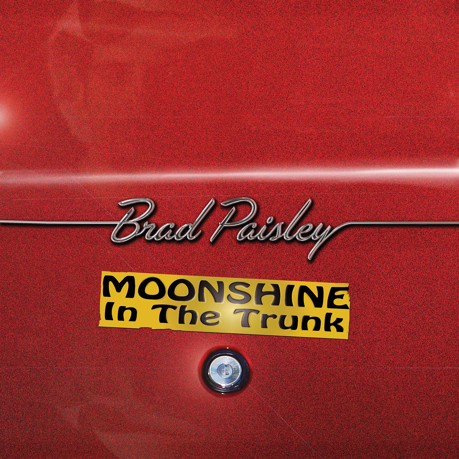 brad paisley moonshine in the trunk album cover