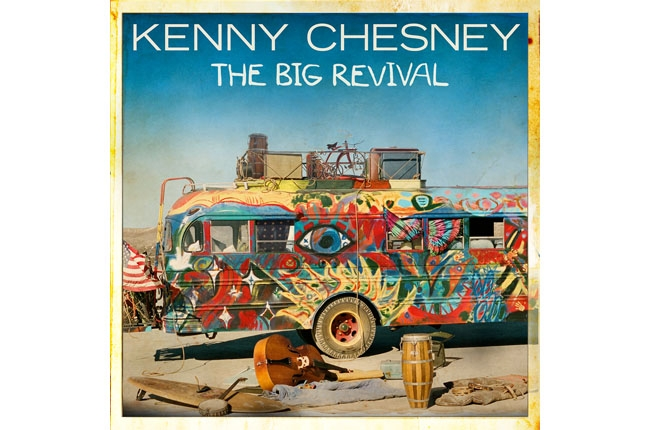 kenny chesney the big revival album cover