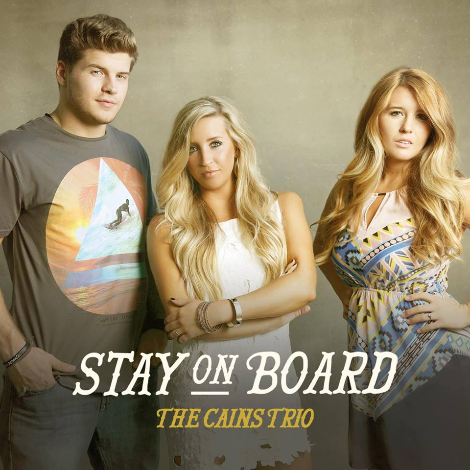 cains trio stay on board
