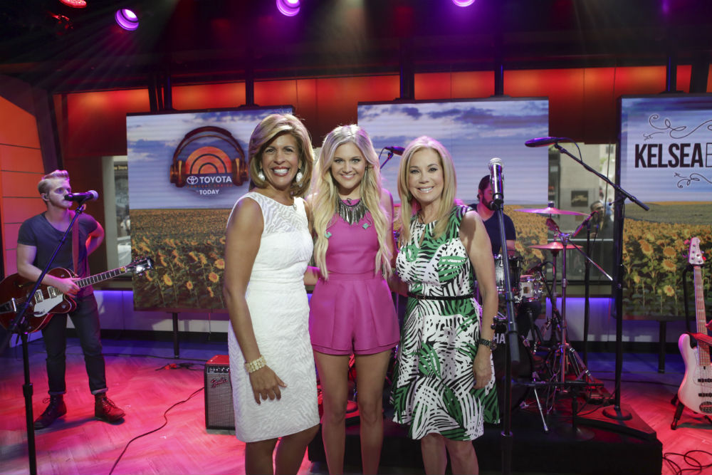kelsea ballerini today show interview