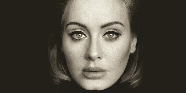 adele 25 album cover first week sales